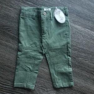 NWT Frenchie Mini Couture Moto Way Pants